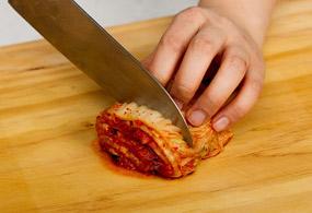 приготовление Кимчи ччиге