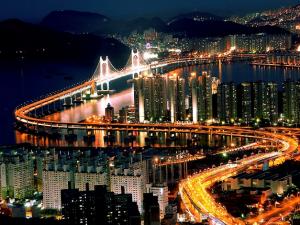 Мост Кванан 광안대교