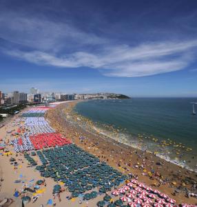 Пляж Хэундэ 해운대 해수욕장