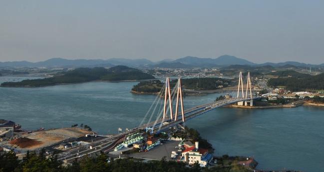 Пролив Мённян 명량해협