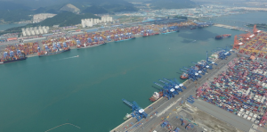 Пусанский порт 부산 항