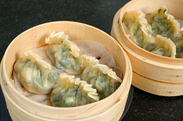 새우 부추 만두