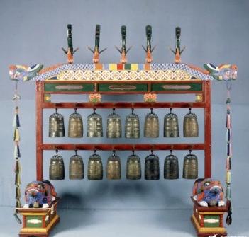 편종 пёнджонг (колокольный звон)