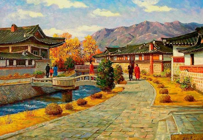 корейская живопись
