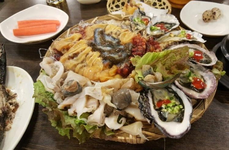 морепродукты 해산물