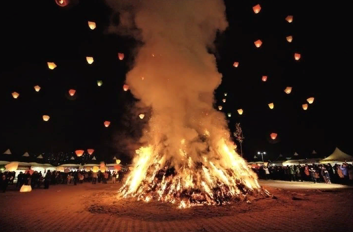 Фестиваль первого полнолуния (정월대보름 )