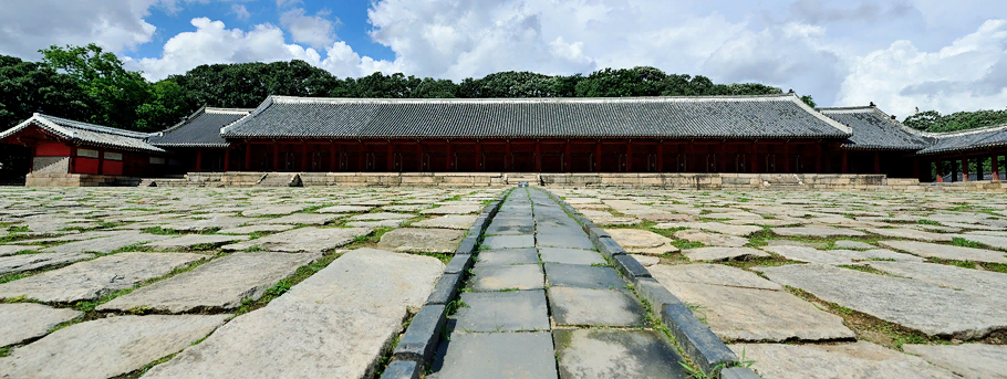 Храм Чонмё 종묘 제례