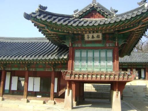 Дворец Чандокун 동궐 창덕궁