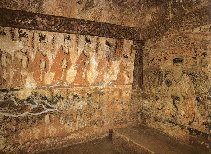 Комплекс гробниц Когурё 고구려 고분 벽화.